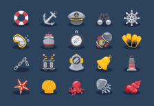 free-icons-sea-elements-iconstore